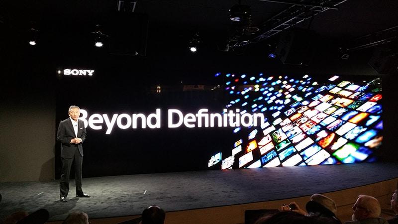 HDR Sony presentation - NAB show 2017