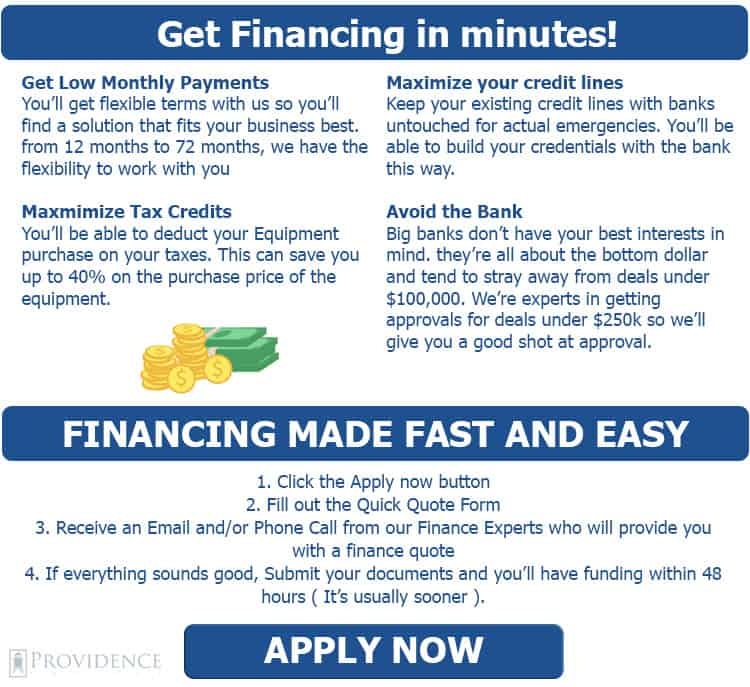 Financing made easy - Providence Capital Funding