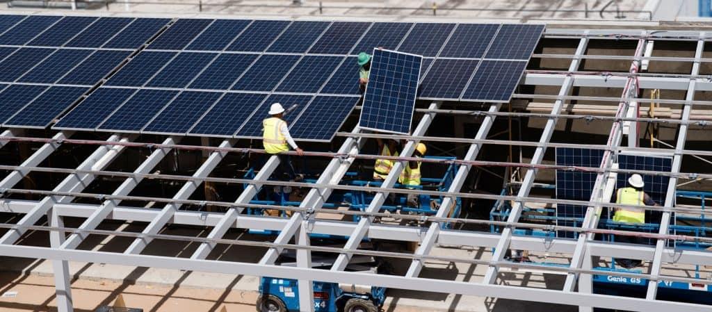 Solar-Installation