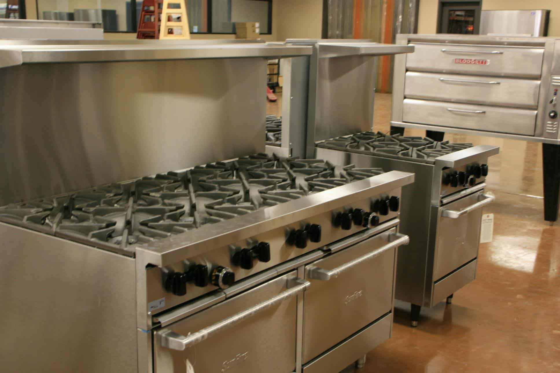 Commercial Stoves